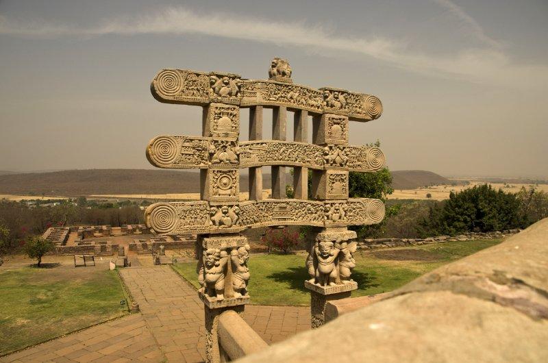Eastern Gateway, Sanchi Stupa