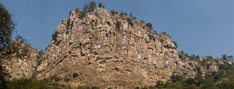 Beautiful cliffs in Sariska