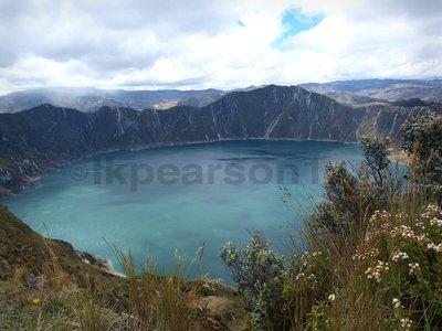 Quilitoa Crater