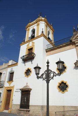 church on Plaza del Socorro