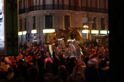 Dinosaur/Dragon at Carnival