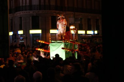 Carnival parade in Madrid