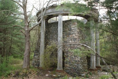 Forge at iron works in Sterling Forest State Park