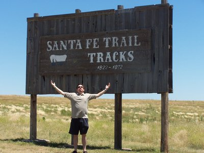 Santa Fe Trail, outside Dodge City, KS