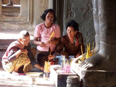 Three Generations at Angkor Wat
