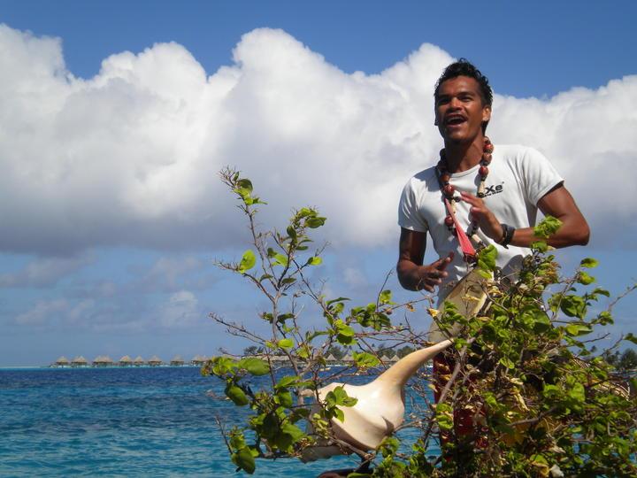 Accoglienza al Sofitel Bora Bora