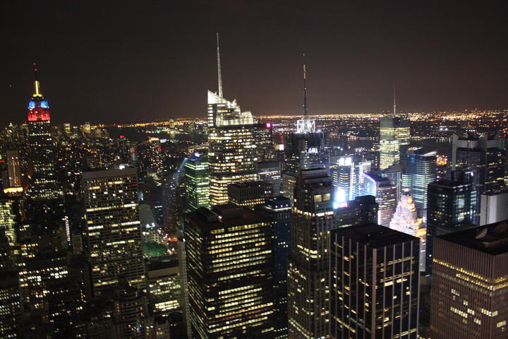 Vista dal Top of the Rock