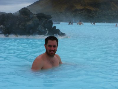 Ash at the Blue Lagoon