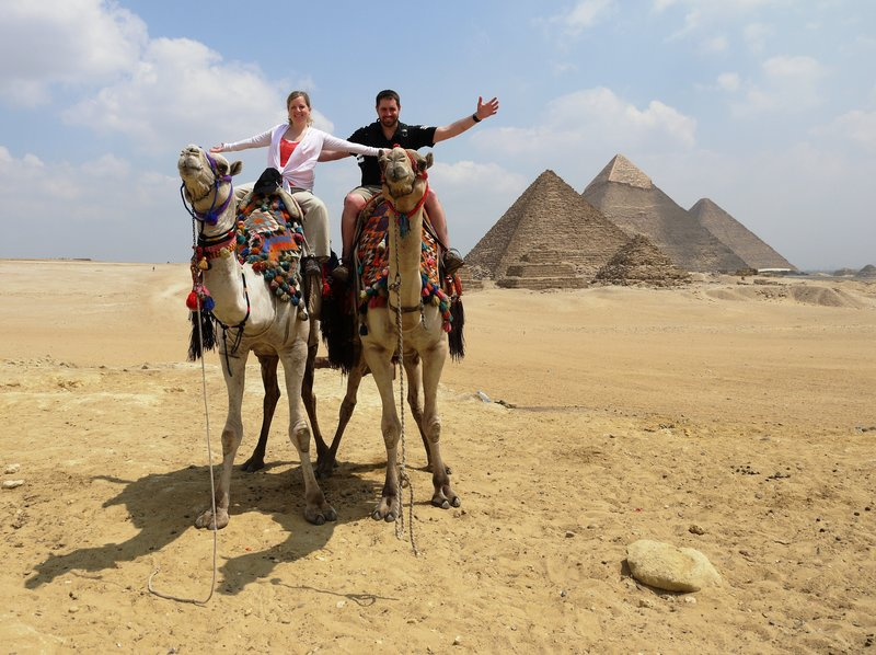 Me and Ash - Pyramids of Giza