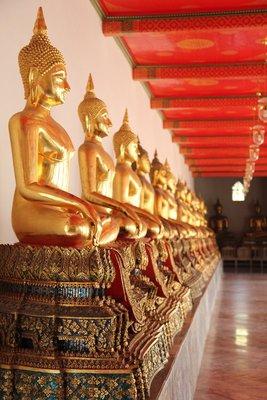 Buddah's in Wat Po