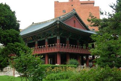 The bell pavillon