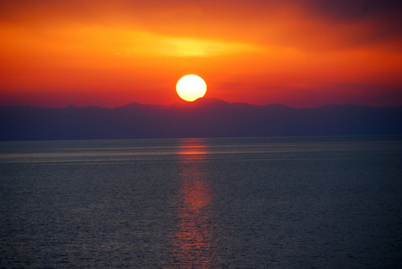 Sunset at Alanya