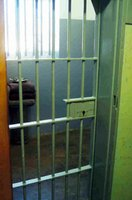 Nelson Mandela's cell on Robben Island where he spent 17 years.