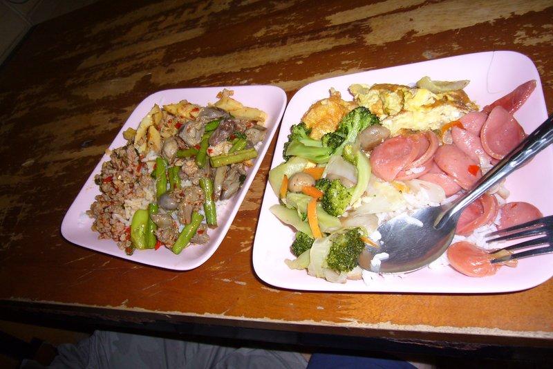 food court food
