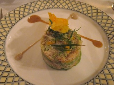 Crabmeat Napoleon