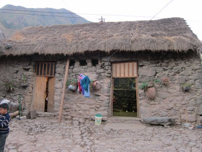 House In Ollantaytambo