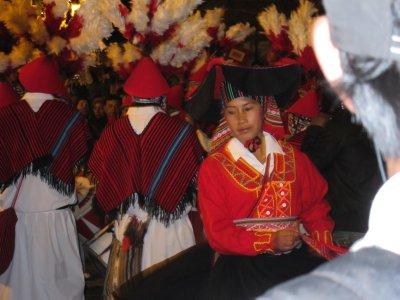 Inti Raymi Revelers