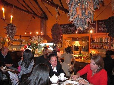Cicciolina Dining Area