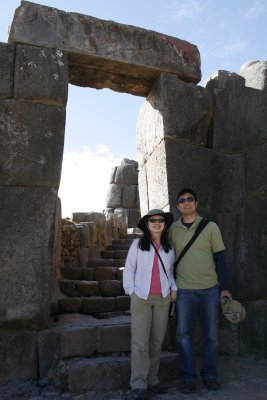 Entryway at Sacsayhuaman