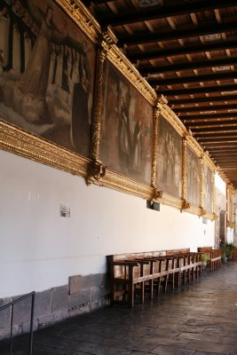 Oil Paintings in the Santa Domingo Church