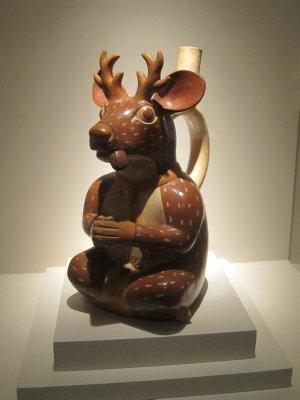 Moche Deer Pottery