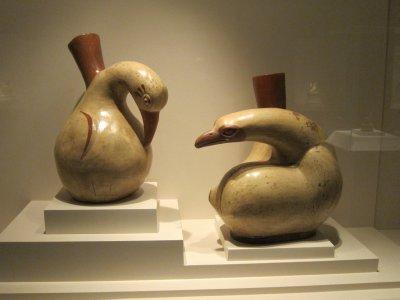Moche Comorant Pottery