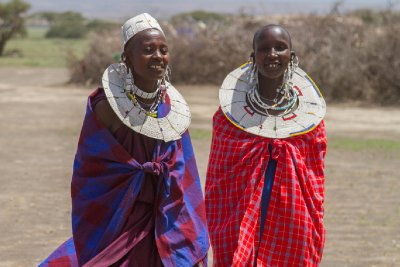 2013-03-17 - Tanzania - 2 - Ngorongoro Park - (25) - Maasai Village