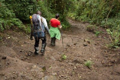 2013-03-11 - Tanzania - 1 - Kilimanjaro Day 8 - (70) - Tip Ceremony