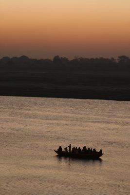 Tourist Boat on Ganges