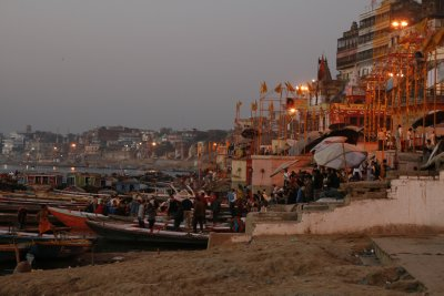 Dasashwamedh Ghat in the Morning