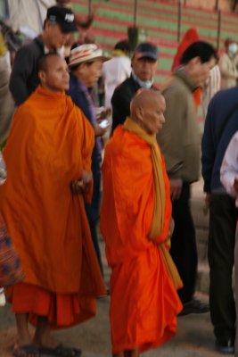 Buddhist Monks in Varanasi