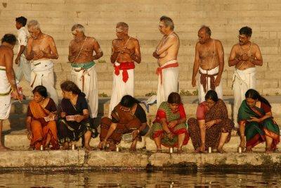 Bathing Brahmins