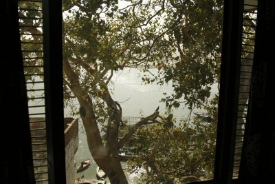 View From Room 104 at the Rashmi Guest House