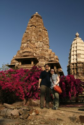 Us at Khajuraho