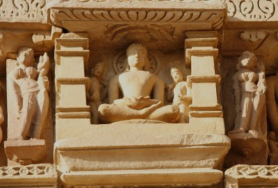 Statue at Khajuraho
