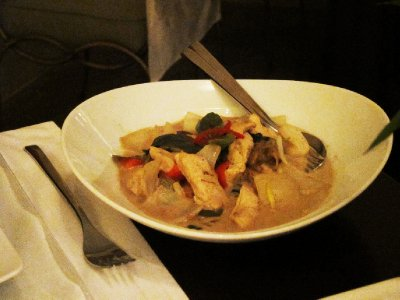 Chicken in Green Curry