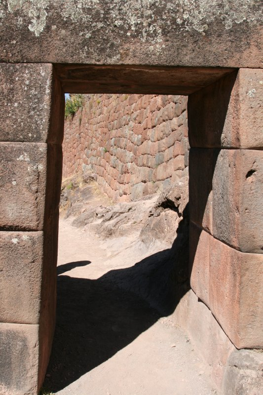 Checkpoint at Pisac Trail