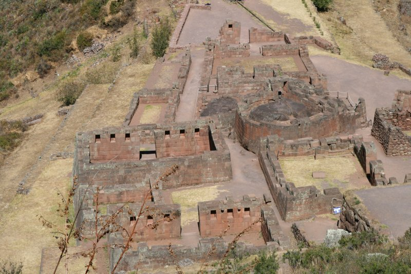 Temples In Pisac
