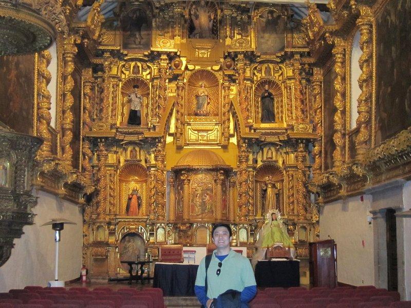 Hotel Monasterio Chapel