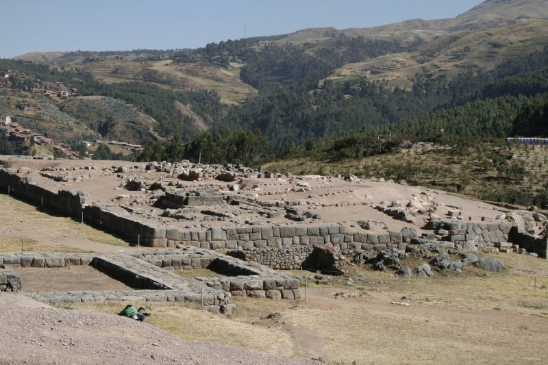 Remains of the Sacsayhuaman Tower
