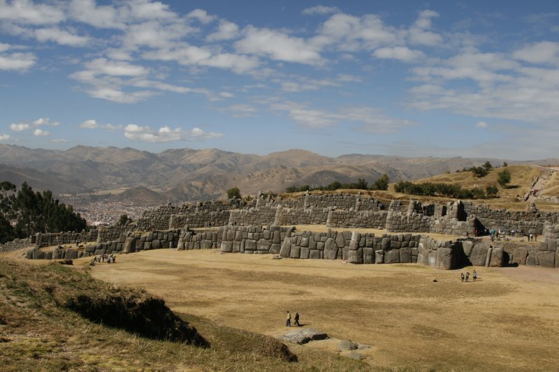 Wide View of Sacsayhuaman