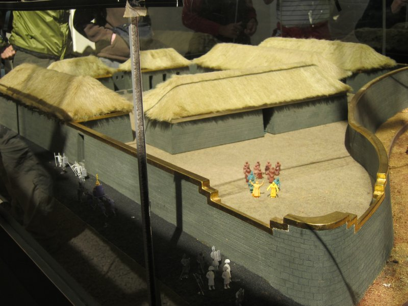 Replica of the Qorikancha