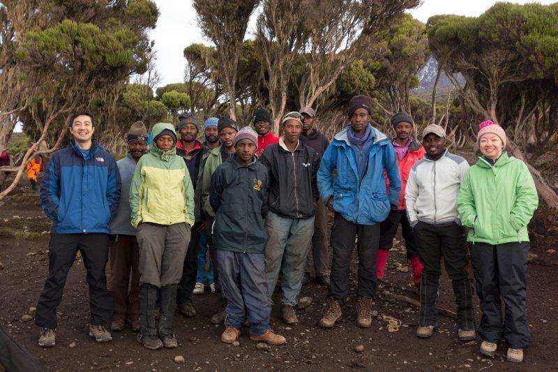 2013-03-11 - Tanzania - 1 - Kilimanjaro Day 8 - (1) - Tip Ceremony