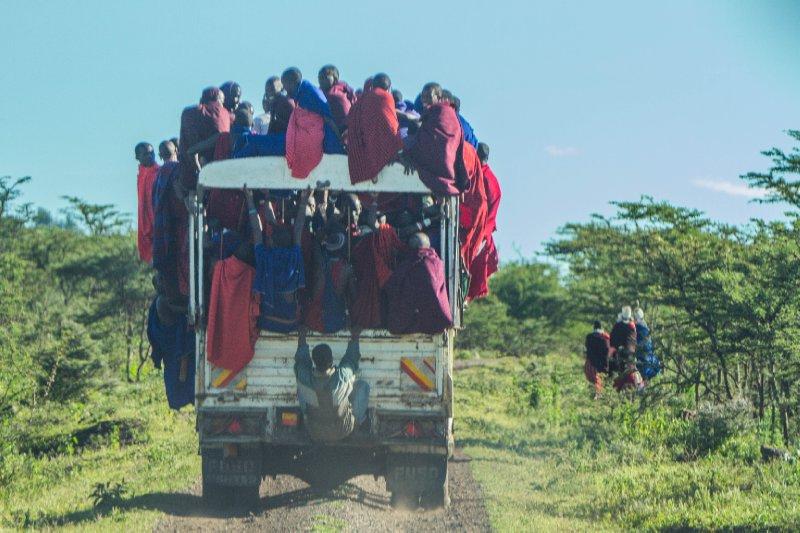 2013-03-15 - Tanzania - 1 - Ubuntu - (15) - Maasai Truck
