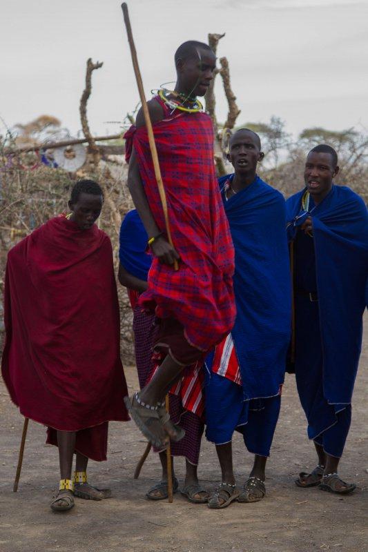 2013-03-17 - Tanzania - 2 - Ngorongoro Park - (133) - Maasai Village