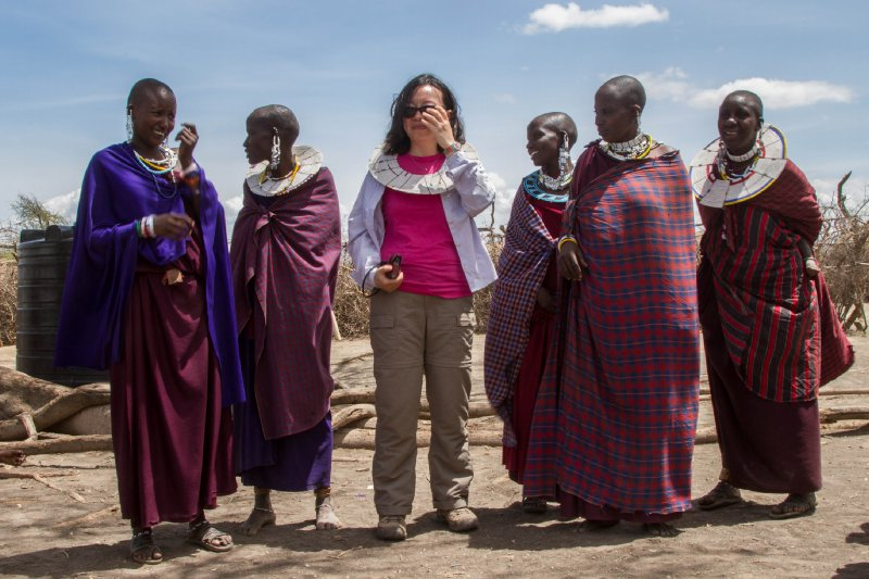 2013-03-17 - Tanzania - 2 - Ngorongoro Park - (150) - Maasai Village