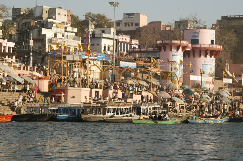 Boats at the Ghats