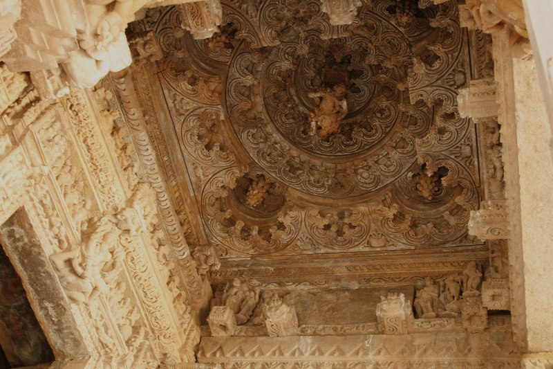 Temple Ceiling at Khajuraho