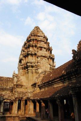 Angkor Wat in morning sunshine