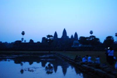 Dawn At Angkor Wat